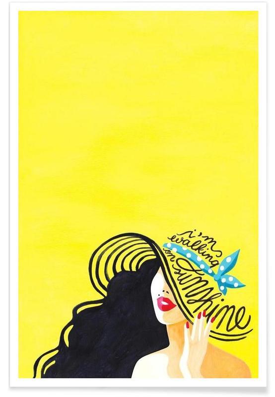 Songteksten, Walking on Sunshine songtekst poster