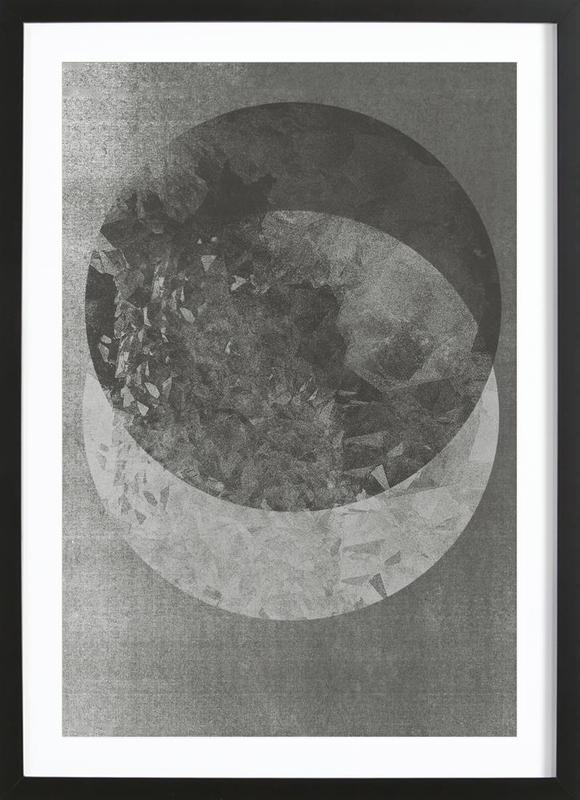 Two Moon Framed Print