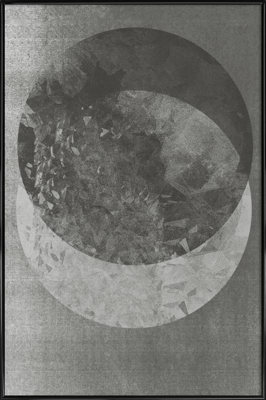 Two Moon ingelijste poster