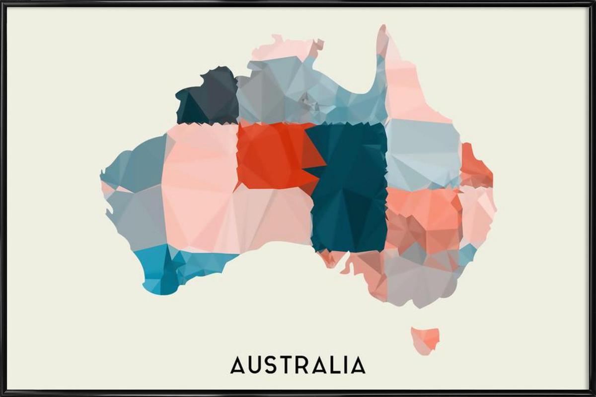 Australia Framed Poster
