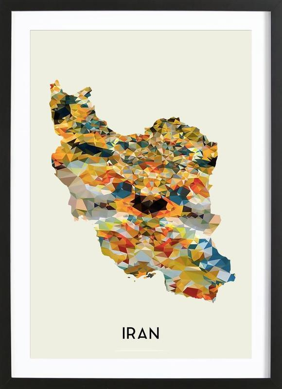 Iran Framed Print