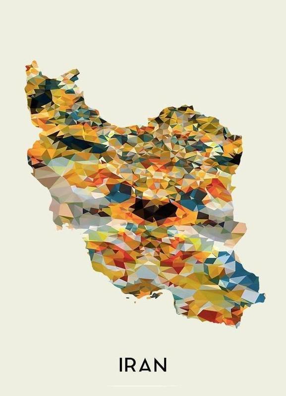 Iran Canvas Print