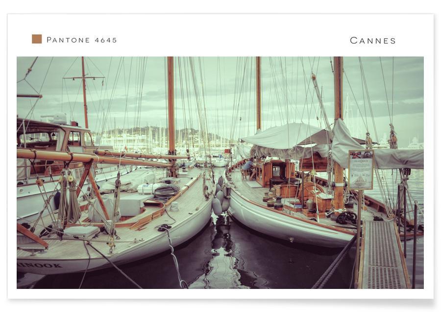 Boten, Reizen, Cannes 4645 poster