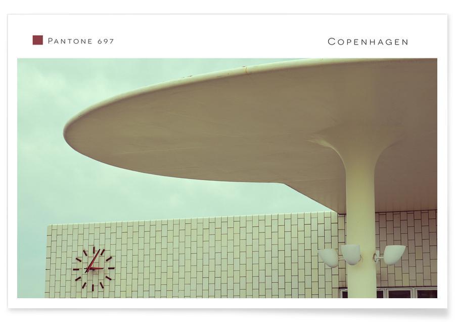 Architectural Details, Copenhagen, Copenhagen 697 Poster