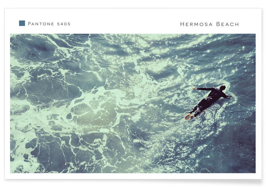Hermosa Beach 5405 -Poster