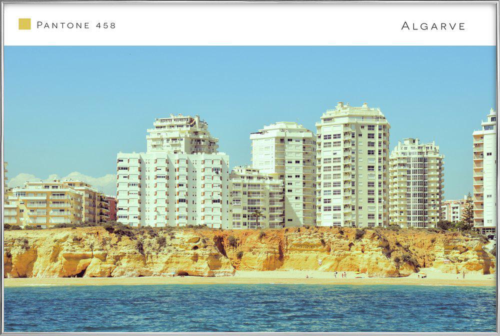 Algarve 2 poster in aluminium lijst