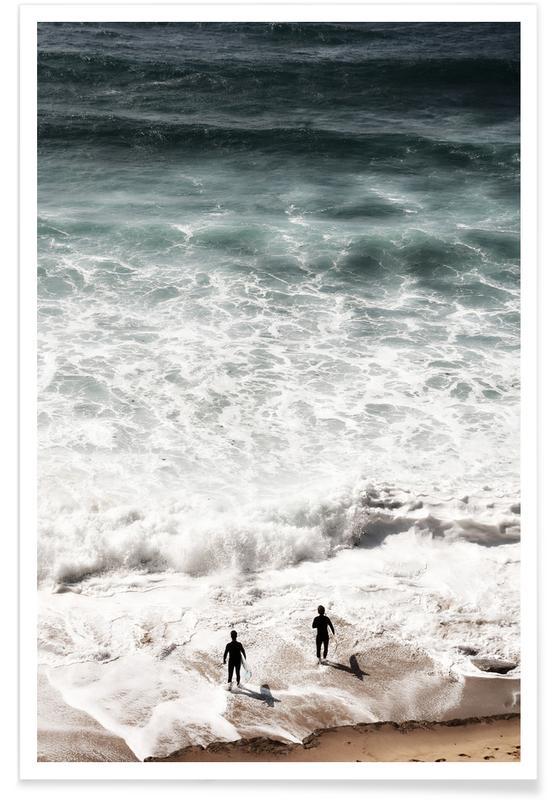 Océans, mers & lacs, Surf, Calling affiche