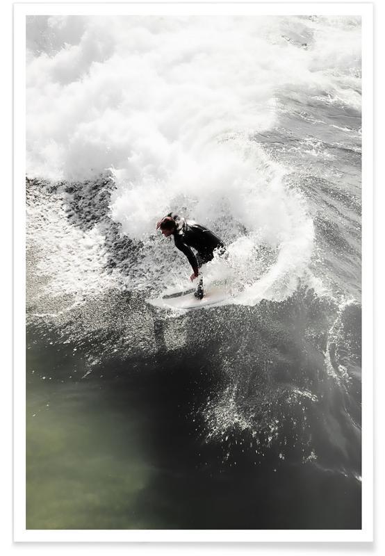 Surfing, Go Hard Poster