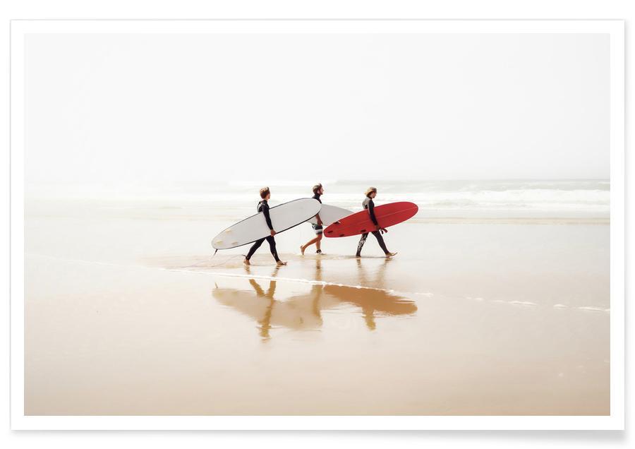 Surfen, Stranden, Surf Triple 1 poster