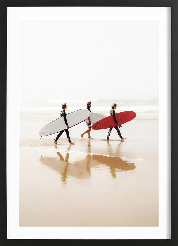 Surf Triple 2 Framed Print