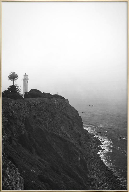 The Lighthouse Poster in Aluminium Frame