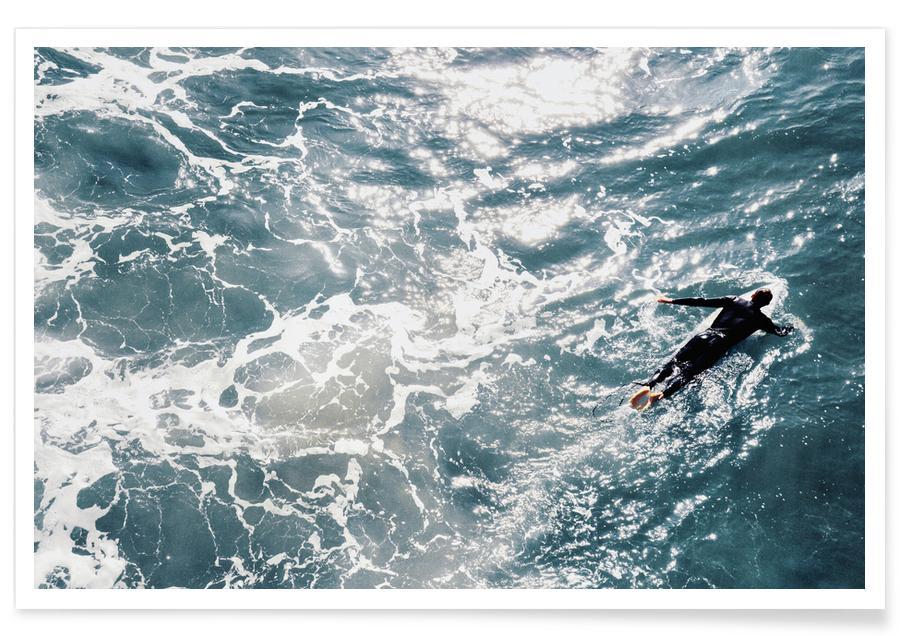 Océans, mers & lacs, Surf, Time To Go affiche