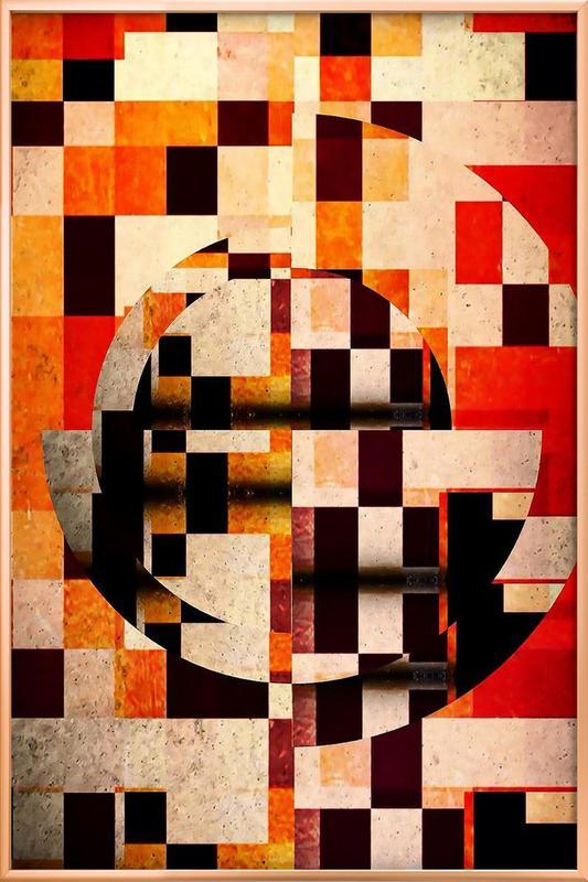 50's -Poster im Alurahmen