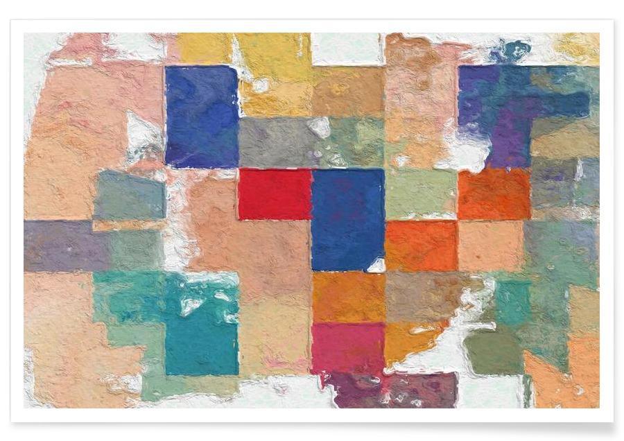, Color Squares affiche