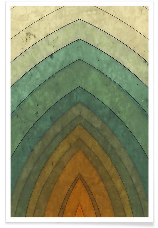 , Vintage Surf No. 1 affiche