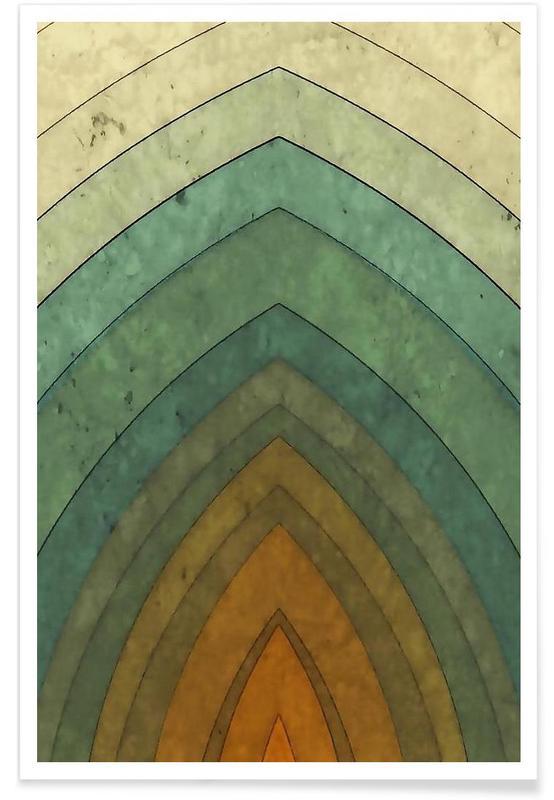 , Vintage Surf No. 1 Poster