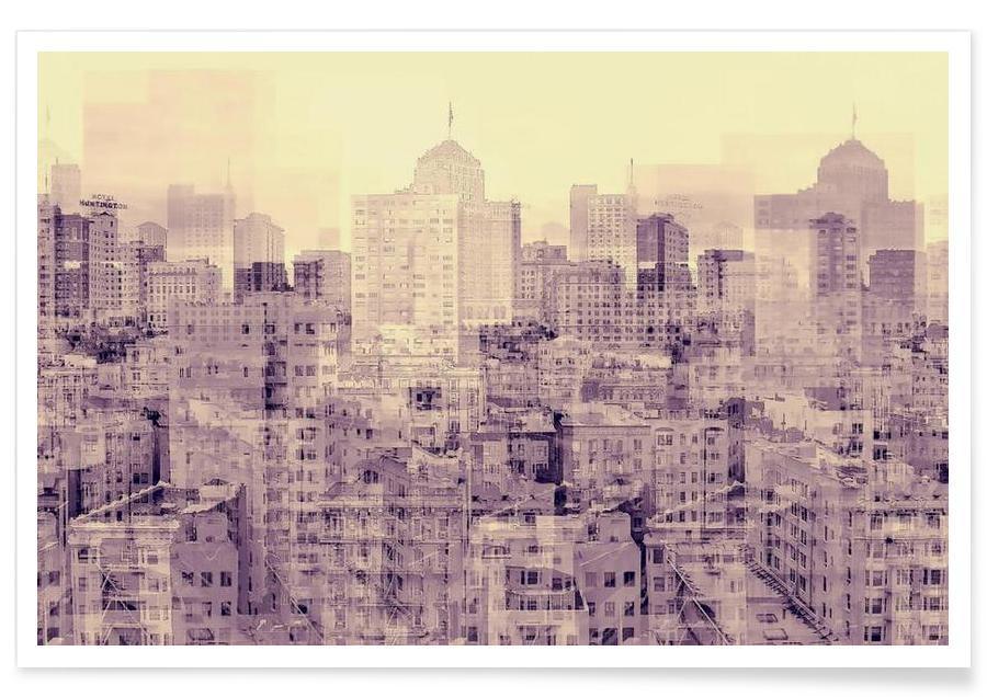 Gratte-ciels, Ghost City affiche