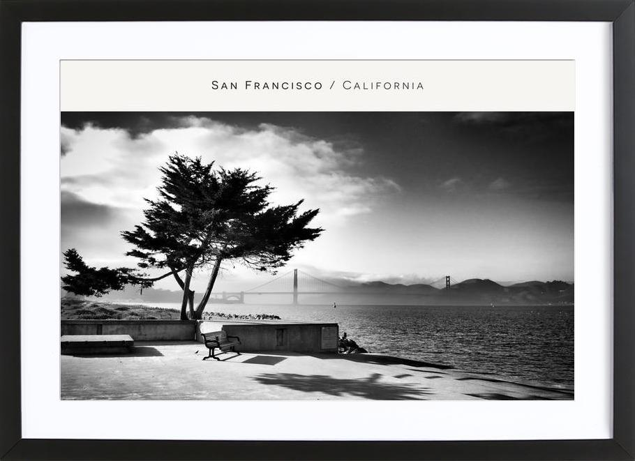 San Fransisco B&W Framed Print