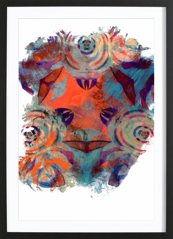 Abstract Sketch 2 ingelijste print
