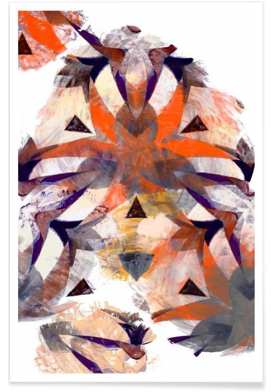 , Abstract Sketch 4 affiche