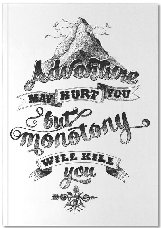 Adventure hand-lettering Notebook
