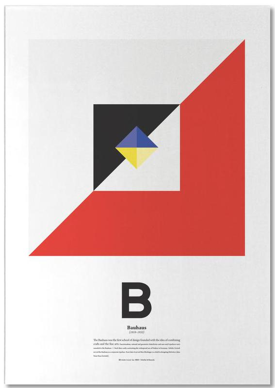 B - Bahaus -Notizblock