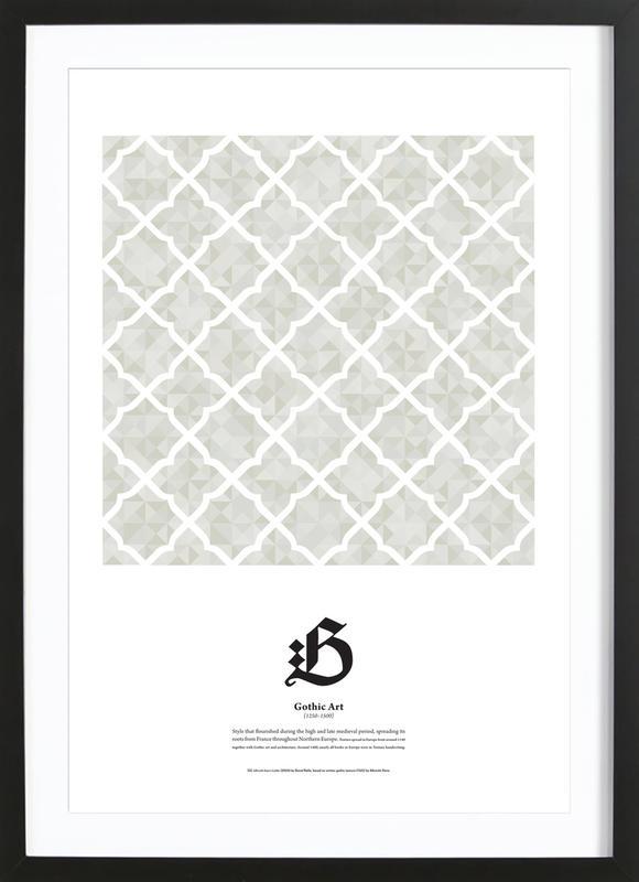 G - Gothic Art Framed Print