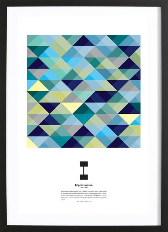 I - Impressionism Framed Print