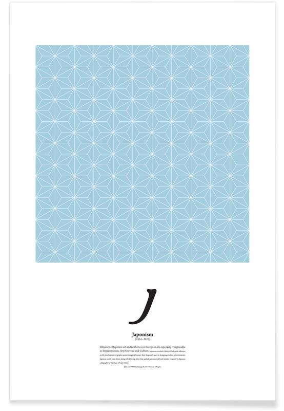 J - Japonism Poster