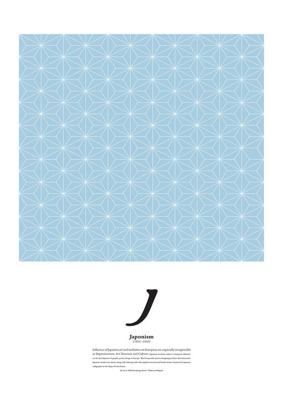 J - Japonism -Leinwandbild