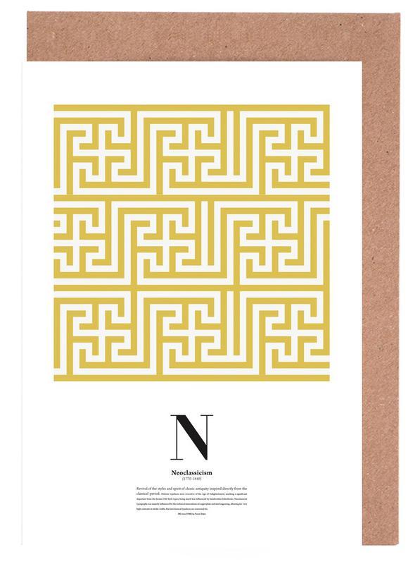 N - Neoclassicism cartes de vœux