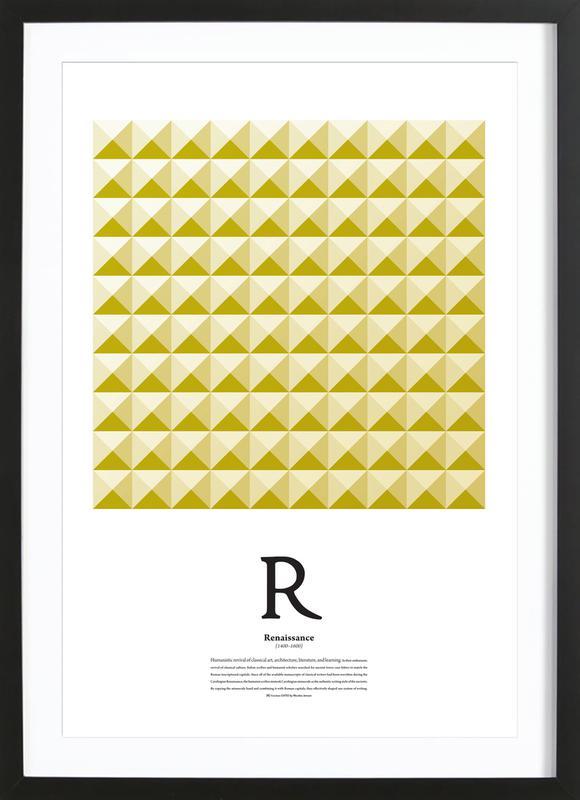 R - Renaissance Framed Print