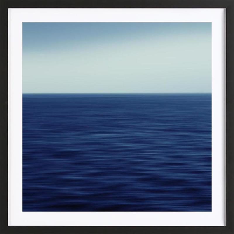 Deepsea – SeeStück No.01 affiche sous cadre en bois