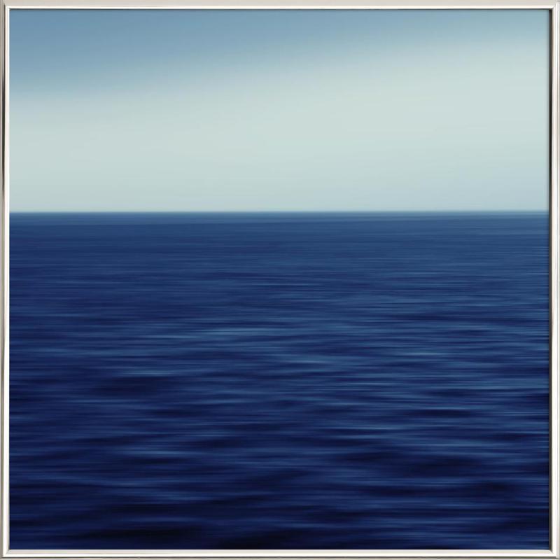 Deepsea – SeeStück No.01 Poster in Aluminium Frame