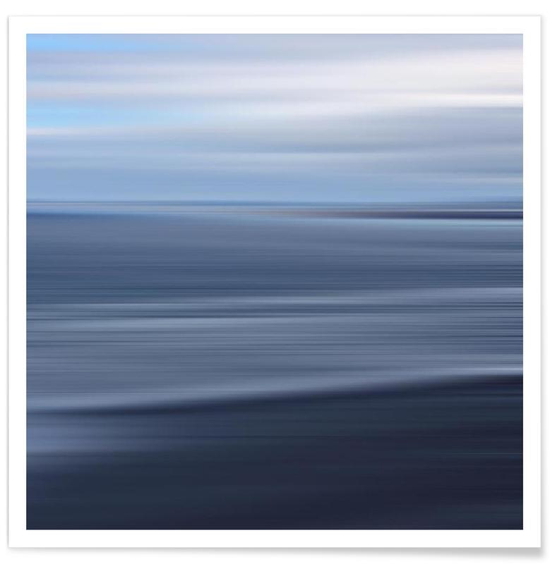 Abstracte landschappen, Seestück Greco poster