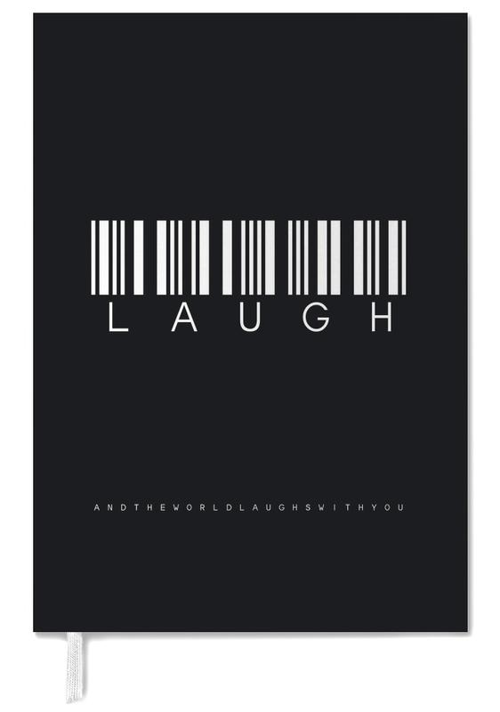 Barcode LAUGH Black Personal Planner