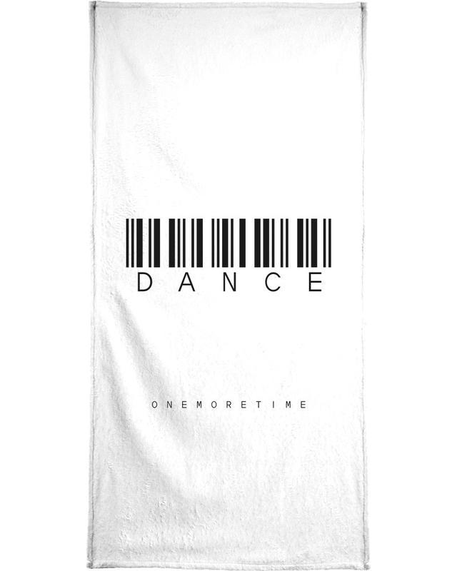 Barcode DANCE -Handtuch
