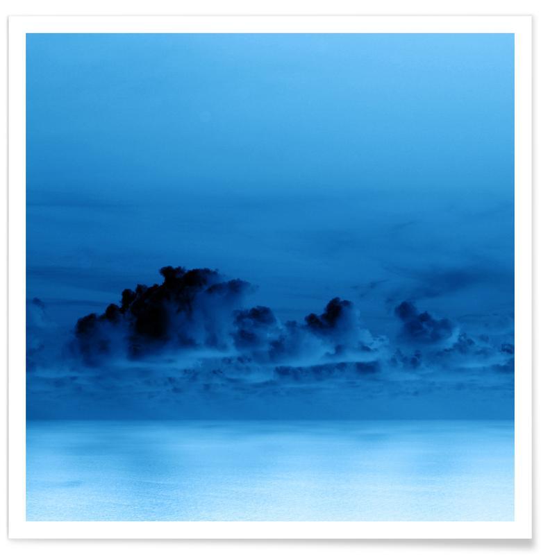 Abstracte landschappen, Lucht en wolken, Night Clouds poster