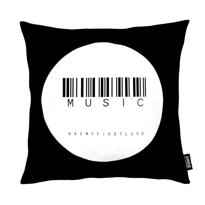 Black & White, Barcode Music Circle White