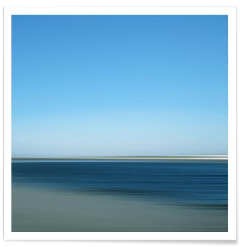 Ozeane, Meere & Seen, Bluesablo SeeStück No.19 -Poster