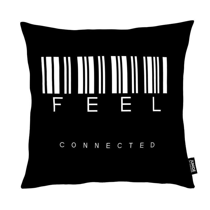 Noir & blanc, Citations et slogans, Feel Black coussin