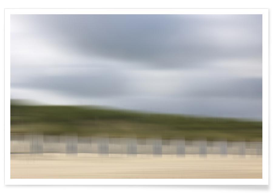 Stranden, 12:13 Nordsee poster