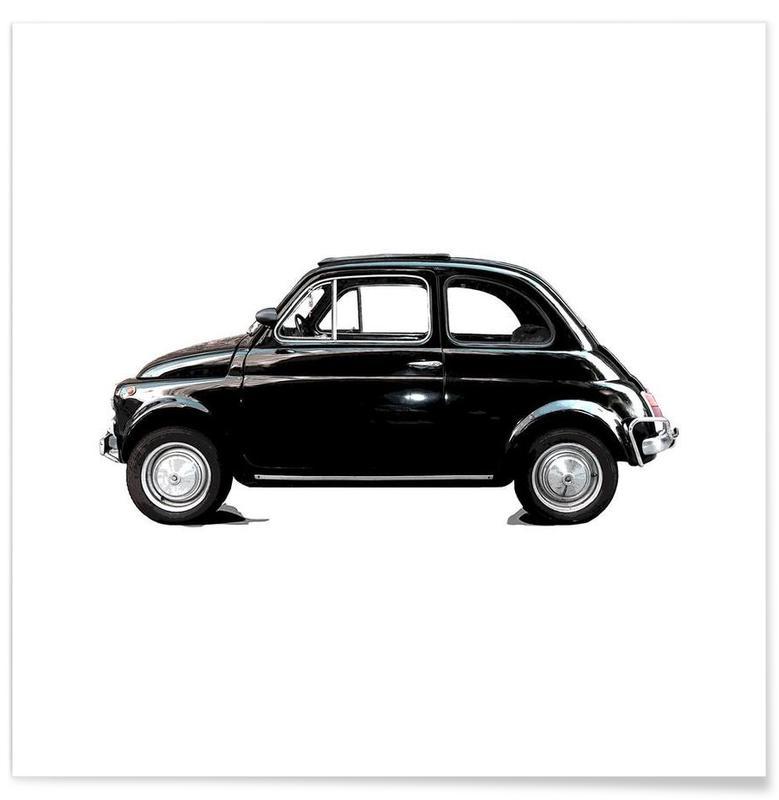 Noir & blanc, Voitures, Dreamcar W affiche