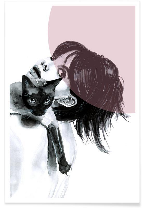 Katzen, Cat Lady -Poster