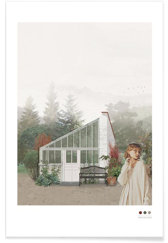Porträts, Greenhouse -Poster