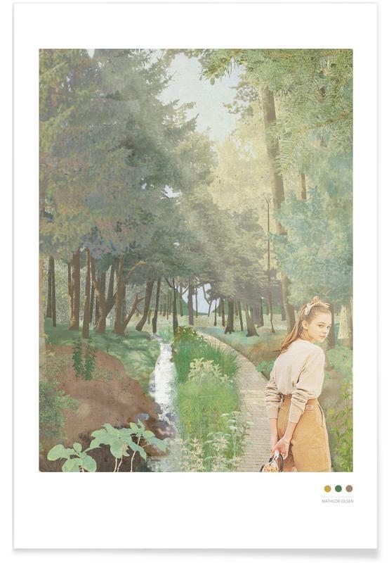 Portretten, Harz poster