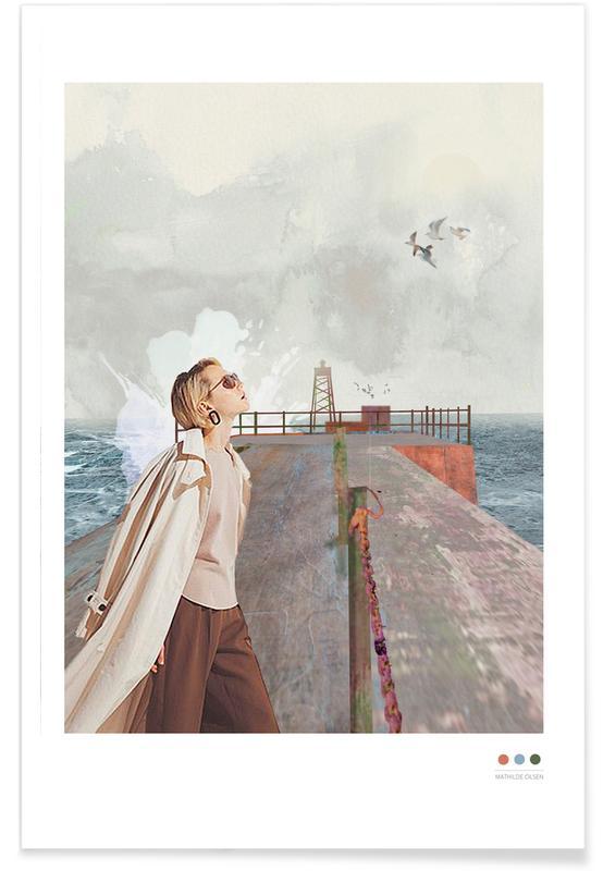 Portraits, Vorupør affiche