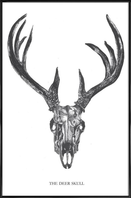 The Deer Skull Framed Poster