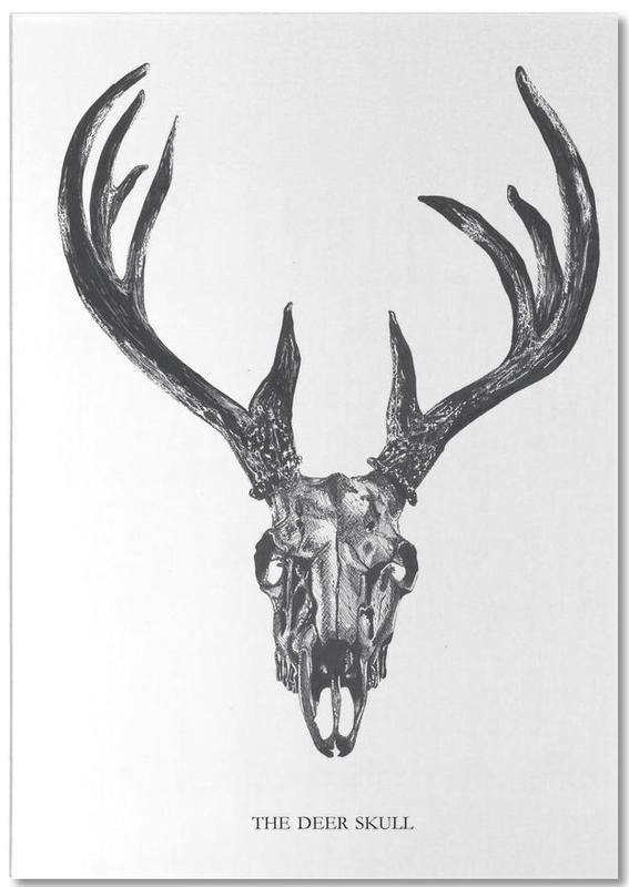 The Deer Skull Notepad