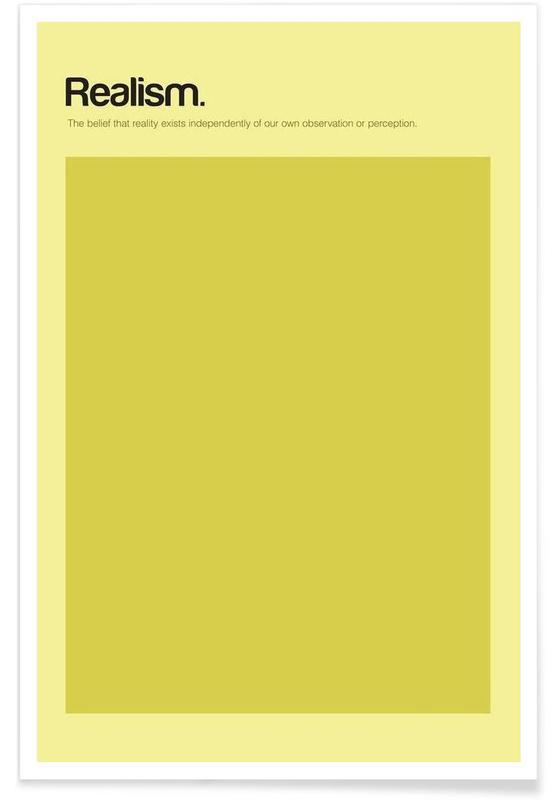 Réalisme - Definition minimaliste affiche